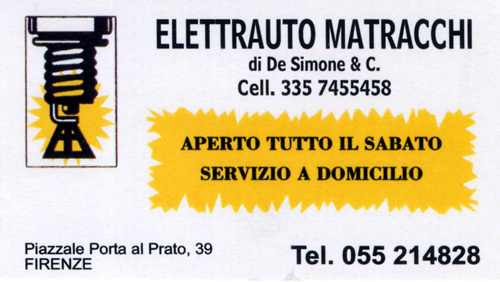 Elettrauto Matracchi