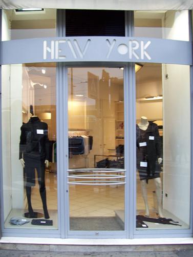 new york abbigliamento