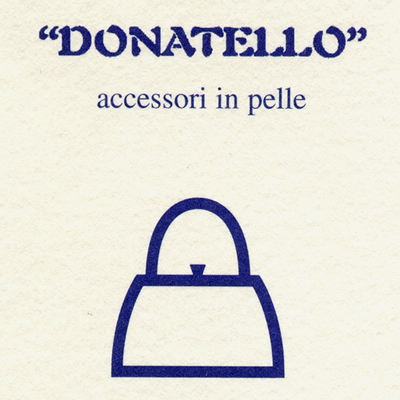 donatello accessori in pelle