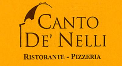 ristorante pizzeria canto de nelli
