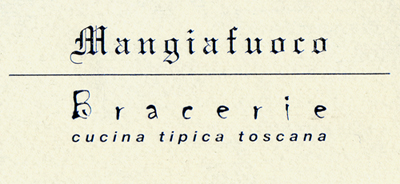 mangiafoco braceria cucina tipica toscana