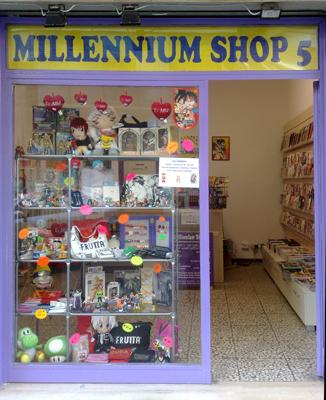 millennium shop 5 fumetti cartoleria gadget card