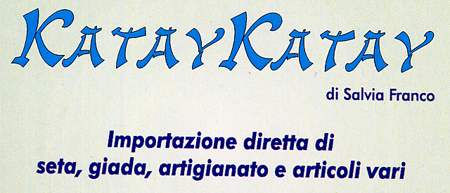 katay katay importazione giada seta artigianato e articoli vari