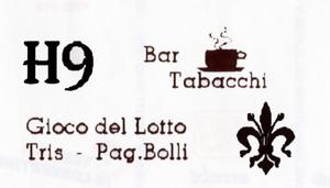 H 9 Bar Tabacchi
