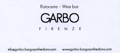 ristorante wine bar garbo