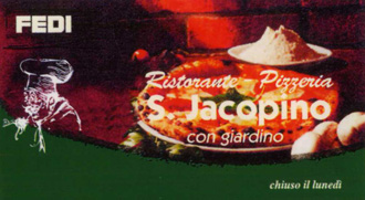 pizzeria s.jacopino