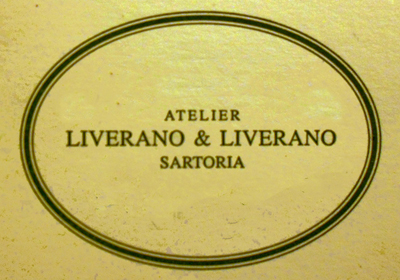 Atelier LIVERANO e LIVERANO Sartoria