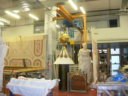 ANDREA  FEDELI  Conservazione restauro oggetti d'arte