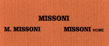 MISSONI - M. MISSONI - MISSONI Home