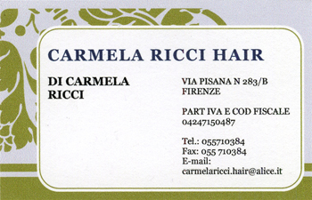 carmela ricci hair